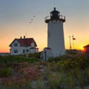 Race Point Lighthouse 2015 Art Print