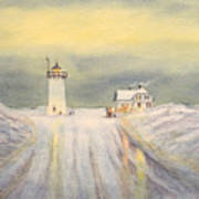 Race Point Lighthouse Provincetown Art Print