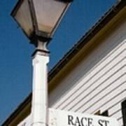 Race St Old Salem Art Print