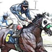 Racetrack Dreams 8 Art Print