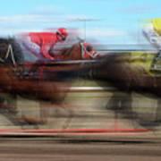 Racetrack Dreams  Art Print