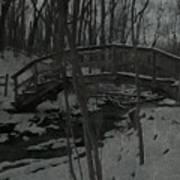 Rachel Carson Trail Bridge Art Print