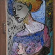 Rachel In Reverse Art Print