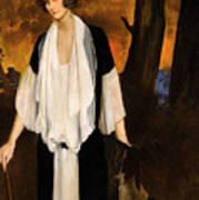 Rachel Strong By Leon Bakst 1924 Art Print
