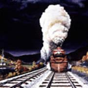 Racing The Storm Art Print