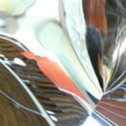 Radial Reflection 2 Art Print