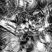 Radiance In Monochrome  Art Print