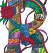 Radical Rooster Art Print