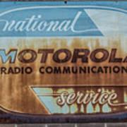 Radio Communications Art Print