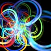 Radius Rainbow Art Print