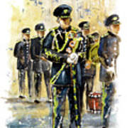 Raf Military Parade In York Art Print
