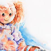 Raggedy Rosie Art Print