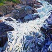 Ragging Waters Art Print