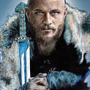 Ragnar Lothbrok Art Print