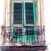 Ragusa Window Art Print