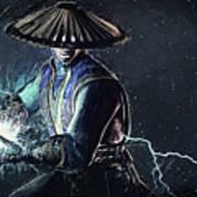 Raiden - Mortal Kombat Art Print