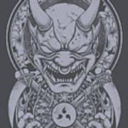 Raijin Art Print