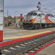 Rail Runner Train Albuquerque Nm Sc02985 Art Print
