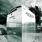 Railroad Box 86 Art Print