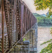 Railroad Bridge14 Art Print