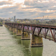 Railroad Bridge3 Art Print