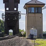 Railroad Lift Bridge2 A Art Print