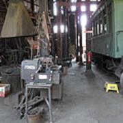 Railroad Shop Art Print
