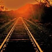Railroad  Surreal Perspective IIi Art Print