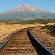 Railroad To The Mountain Art Print