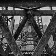 Railroad Trestle Panoramic 2 Art Print