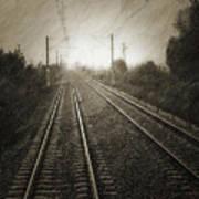 Rails Art Print