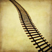 Railway Print by Bernard Jaubert