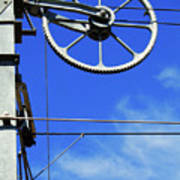 Railway Catenary Art Print