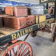 Railway Express Agency Art Print