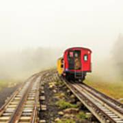 Railway To The Summit Art Print