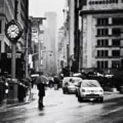 Rain - New York City Art Print