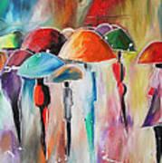 Rain City Art Print