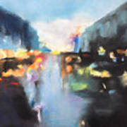 Rain Colors Art Print