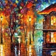 Rain Energy Art Print