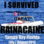 Rainacaine Tampa Bay 2015 Art Print