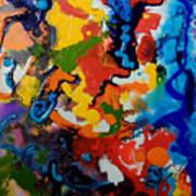 Seahorse Emerging Art Print