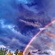 Rainbow And Scalar Waves IIi Art Print