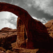 Rainbow Bridge Utah Art Print