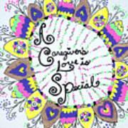 Rainbow Care Art Print