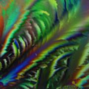 Rainbow Crystals Art Print