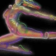 Rainbow Dancer Art Print