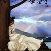 Rainbow Dreamer Art Print by Robert Foster
