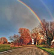 Rainbow Hdr Art Print