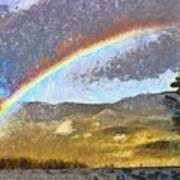 Rainbow - Id 16217-152046-6654 Art Print