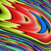 Rainbow In Abstract 04 Art Print